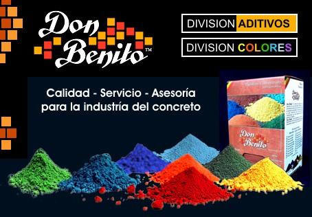 Concreto coloreado cemento blanco y pigmentos oxidos de for Pigmento para cemento